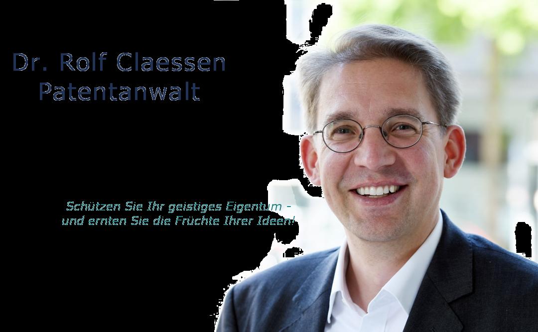 Dr. Rolf Claessen