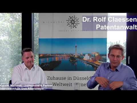 Livestream – Dr. Rolf Claessen